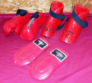 Century Karate Taekwondo Sparring Hand & Foot Guards Gloves MMA Student Size M L