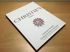 Magazine CHRISTIE'S ROMA Importanti Gioielli e Orologi da Polso - Novembre 2001