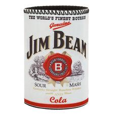 JIM BEAM LOGO Can Cooler Beer Can Bottle Cooler Stubby Holder Cosy Gift JB003C