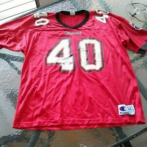 Buccaneers Jersey Mike Alstott #40 Jersey Size Large 44 by Champion