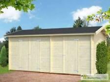 Gartenhäuser & Geräteschuppen mit Palmako Blockbohlen-Satteldach