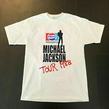 Michael Jackson BAD Pepsi Concert Tour 1988 T shirt