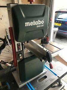 Metabo BAS 261 240v Precision Band Saw - Barely Used - Excellent Condition