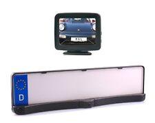 """Rückfahrkamera mit Nummernschildhalter inkl. Parksensoren und 3.5"""" Monitor"""