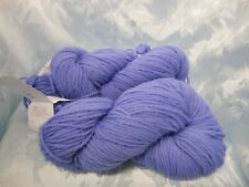 New listing Pure Wool Yarn Periwinkle Blue Deluxe Worsted by Universal Yarn 220yd