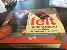 Felt Underground: 12 Hip Projects From the Urban Crafts Revolution, New