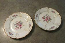 Two Vintage Diplomat Sanssouci Rosenthal Ivory Germany Dinner Plate