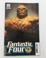 Jamie Bell Signed Autographed Fantastic Four #1 Variant (2018) Esad Ribic Cover