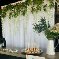 Classic Double Tulle Photography Backdrop Curtains 2M for Parties Xmas Banquet