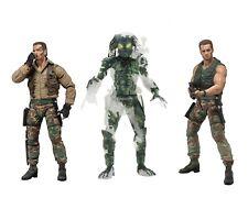 "Predator 7"" Scale Figure Bundle - Extraction Dutch, Patrol Dutch & Jungle Demon"
