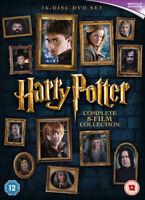 Harry Potter Colección Completa (8 Película) Set DVD Nuevo DVD (1000596922)