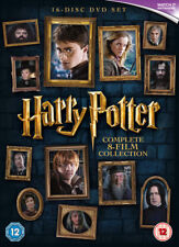 Harry Potter Complete Collection (8 Film) Boxset DVD NEW dvd (1000596922)