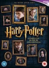 Harry Potter Collezione Completa(8 Film) COFANETTO DVD NUOVO DVD (1000596922)