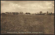 Islington. Owen's School. Playing Fields, Oakleigh Park by P.A. Buchanan & Co.