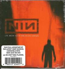 NINE INCH NAILS Live Beside 5 TRACK PROMO HD DVD SAMPLER SEALED 2007 LIMITED USA