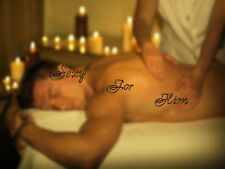 ☆Sexy for Him☆Massage Oil☆Sensuous Blend of Exotic Oils☆Natural Enhancer☆