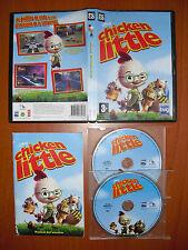 Chicken Little [PC CD-ROM] Disney Buena Vista Games Versión Española, Castellano