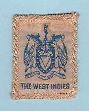 1960's SCOUT OF WEST INDIES - NATIONAL SCOUTS FLAG EMBLEM Patch ~ RARE