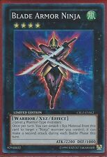 Yugioh CBLZ-ENSE2 Blade Armor Ninja Limited Edition Super Rare Card