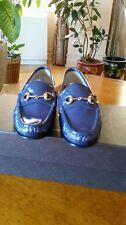 Gucci Patent leather Horsebit Loafers SZ 35