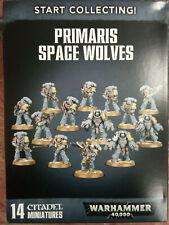 Warhammer 40k Start Collecting Primaris Space Wolves -
