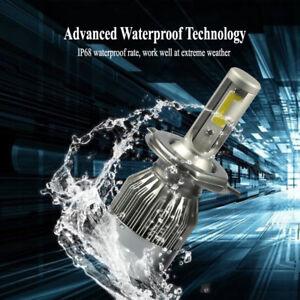 H4 HB2 9003 6000K 1800W LED Headlight Conversion Kit Bulbs 270000LM Hi-Lo Beam