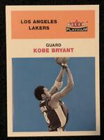 2001-02 Fleer Platinum Kobe Bryant '61 Retro Style, Los Angeles Lakers