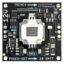 RGB High-Power LED 10 Watt auf ALU-Platine WS2812B SK6812 PL9823
