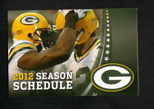 2012 Green Bay Packers Schedule--NFL Ticket Exchange