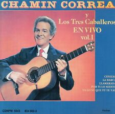 CHAMIN CORREA En vivo vol.1 México CD PolyGram 1989 !