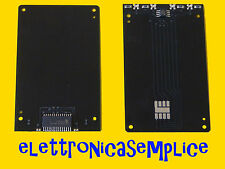 fun card silver card con pic16F876 ed eeprom 24LC64 pcb (B30)