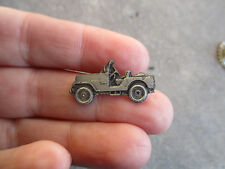 Korea War Willys Jeep employee production award E pin war worker tie tac #2