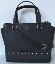 New Kate Spade small Hadlee Laurel Way Jeweled Saffiano Leather Tote