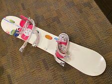 Womens Burton Lux 50 White Pink Snowboard
