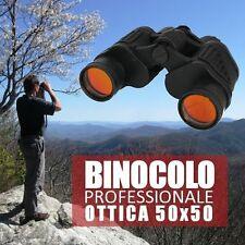 BINOCOLO CANNOCCHIALE 50X50 MONTAGNA MARE CAMPEGGIO CACCIA ZOOM DOPPIA LENTE