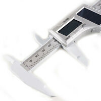 "6"" LCD Vernier Gauge Solar Digital Caliper Micrometer Carbon Composite Caliper"