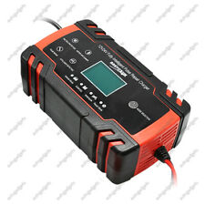 12V 6A Car Battery Charger Maintainer Auto Trickle RV for Car  Lawn Mower New