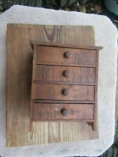 Antique Primitive Miniature Chest of Drawers Great Con Country Cottage East Tenn