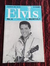 ELVIS PRESLEY MONTHLY - NO 6 - JUNE 1964  - ( 5th YEAR  )
