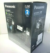Panasonic KX-TG9542B DECT 6.0 2 Two-Line Cordless Phone (2 CORDLESS HANDSETS)