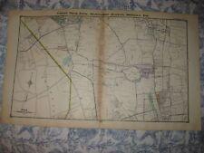 ANTIQUE 1914 SEA CLIFF ROSLYN MINEOLA MANHASSET EAST WILLISTON NEW YORK MAP NR
