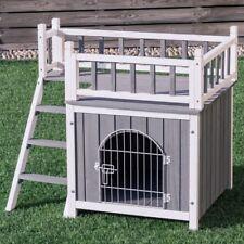 New listing Casas Para Perros Accesorios Para Perros Gatos Pequeños Madera Con Puerta Escal