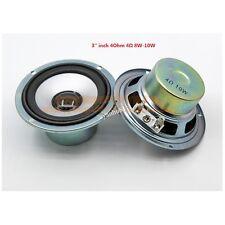"2pcs 3"" inch 4Ohm 4Ω 8W 10W 30W Full-range Audio Speaker Subwoofer Loudspeaker"