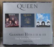 QUEEN The Greatest Hits Vol 1 2 3 Best of CD BOX SET Freddie Mercury I II III