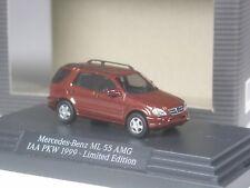 Klasse: Busch Mercedes Benz ML 55 AMG braunrotmetallic IAA 1999 in OVP