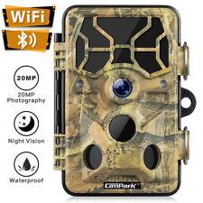 Campark 20MP 1296P WLAN Wildkamera WiFi Bewegungsmelder IR Nachtsicht Jagdkamera