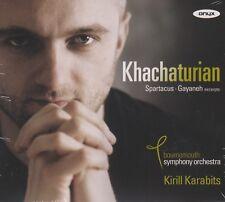 [BRAND NEW] CD: KHACHATURIAN: SPARTACUS / GAYANEH EXCERPTS: KARABITS