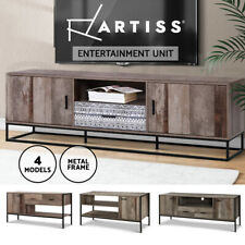 Artiss TV Cabinet Entertainment Unit Stand Storage Drawers Industrial Rustic