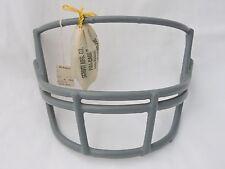 Vintage Gray Schutt Football Facemask OPO XL Double Bar Face Mask Green Dot Tag