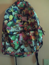 NWT Nintendo Mario comic backpack; multicolored w/characters from Mario Kart